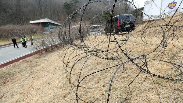 Déploiement d'une batterie THAAD en Corée du Sud - Sputnik France