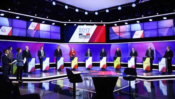 Les 11 candidats à la présidentielle française - Sputnik France