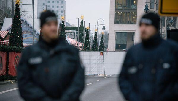 Les policiers allemands à Berlin - Sputnik France