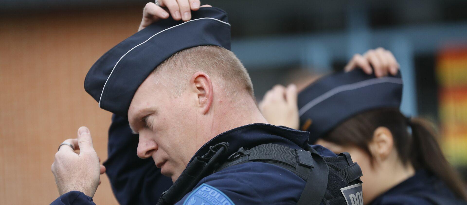 La police municipale française - Sputnik France, 1920, 21.11.2020