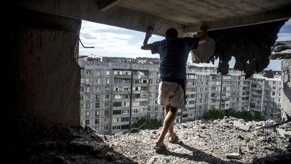Une maison de Lougansk - Sputnik France