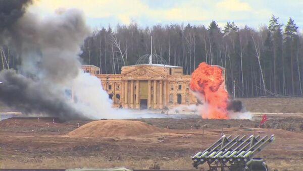 Reconstitution de la bataille de Berlin près de Moscou - Sputnik France