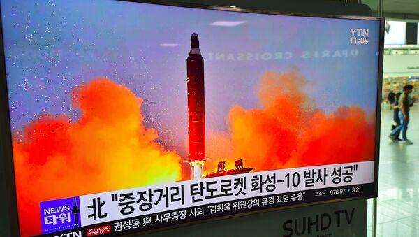 Missile nord-coréen Musudan - Sputnik France