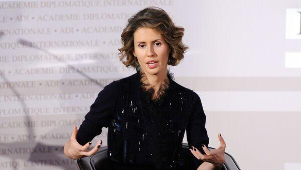 Asma el-Assad - Sputnik France