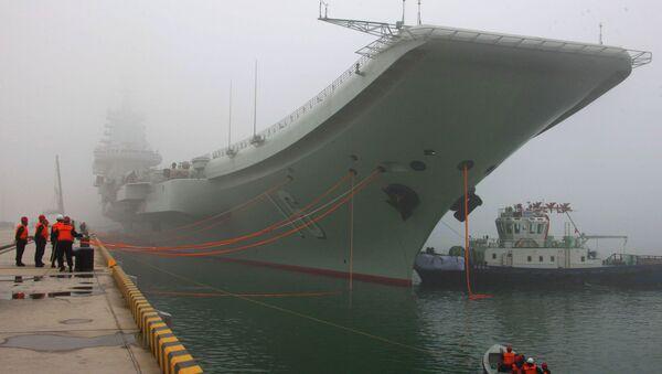 Liaoning, un porte-avions chinois - Sputnik France