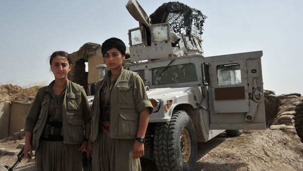 Le parti des travailleurs du Kurdistan revendique la mort de 12 soldats turcs  - Sputnik France