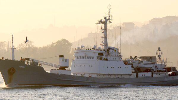 Le navire de renseignement Liman - Sputnik France
