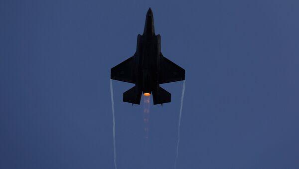 F-35 fighter des forces israéliennes - Sputnik France