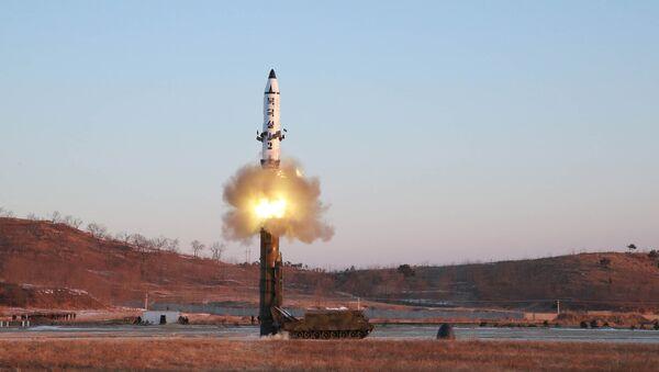 Un test de missile nord-coréen - Sputnik France
