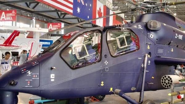Un hélicoptère léger chinois Z-19E - Sputnik France