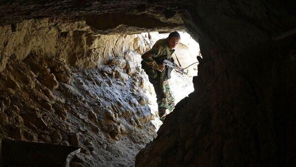 Солдат Республиканской гвардии на окраине сирийского города Дейр-эз-Зор - Sputnik France