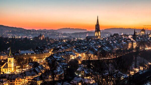A photo of the old city of Bern, Switzerland, taken from the Rosengarten park. (File) - Sputnik France