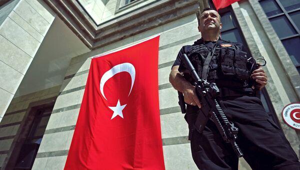 Des vandales attaquent le consulat turc à Zurich et appellent à tuer Erdogan - Sputnik France
