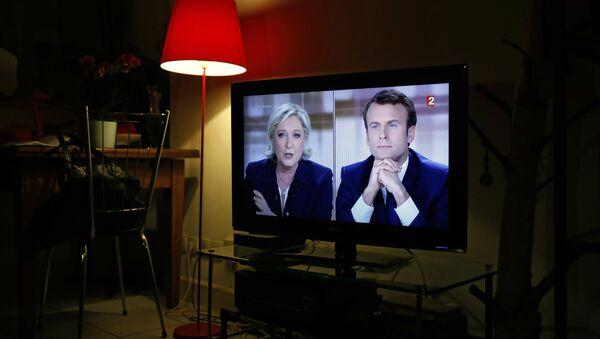 Macron et Le Pen - Sputnik France