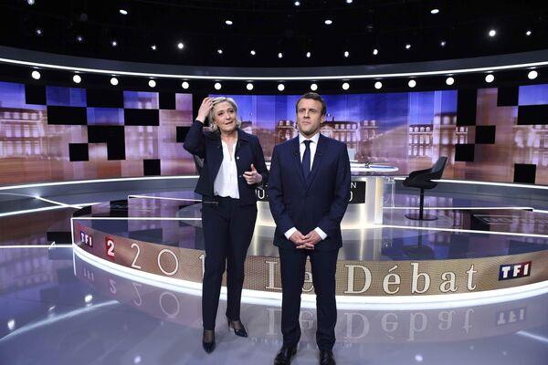 Un duel en direct : les débats Macron – Le Pen trois jours avant les présidentielles - Sputnik France