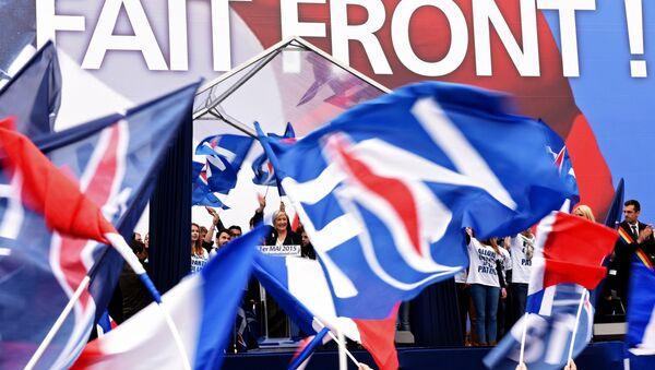 The leader of France's rightwing Front National (FN), Marine Le Pen. (File) - Sputnik France
