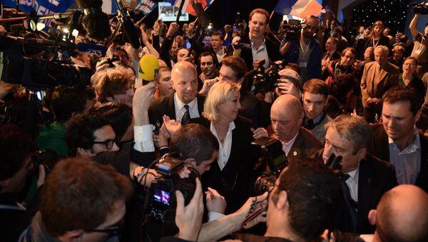 soirée électorale FN - Sputnik France