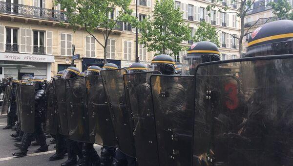 Manifestation contre les résultats des élections - Sputnik France
