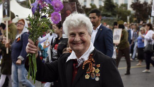 Célébration du Jour de la Victoire à Simféropol - Sputnik France