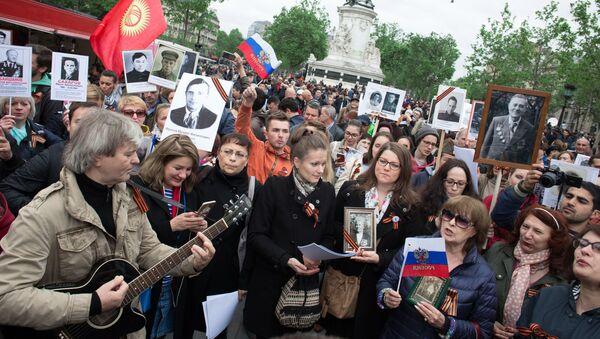 De Vladivostok à Lisbonne: l'action «Régiment immortel» dans le monde - Sputnik France