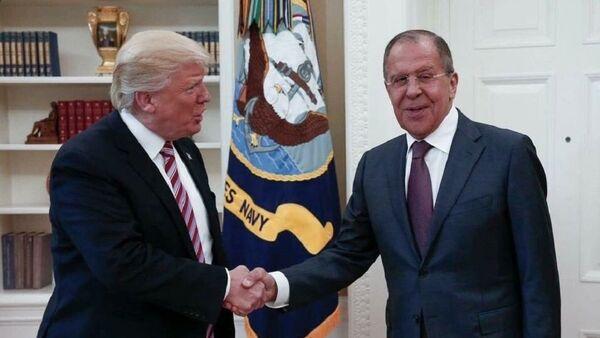 Trump et Lavrov - Sputnik France