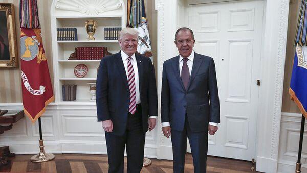 la rencontre entre Sergueï Lavrov et Donald Trump - Sputnik France