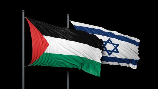 Флаги Израиля и Палестины - Sputnik France
