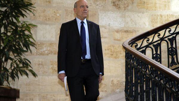 Alain Juppé - Sputnik France