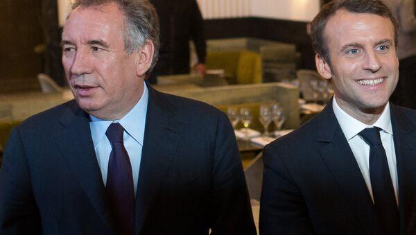 Bayrou et Macron - Sputnik France
