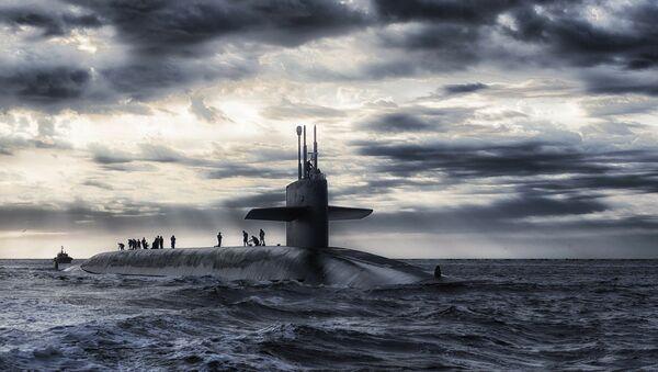 Un sous-marin, image d`illustration - Sputnik France