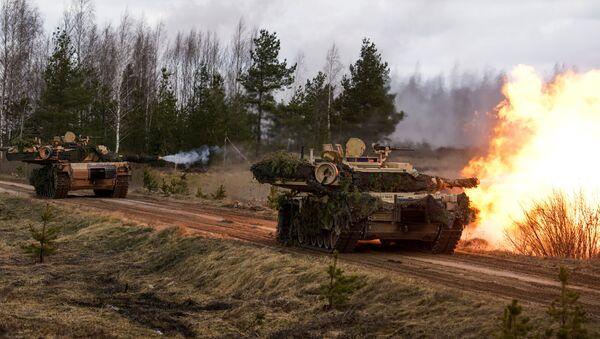 Des Abrams M1 - Sputnik France