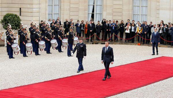 Emmanuel Macron à l'Élysée - Sputnik France