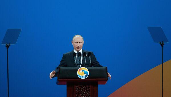 Vladimir Poutine intervient au sommet «Nouvelle route de la soie» à Pékin - Sputnik France