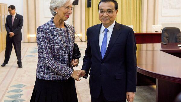 Christine Lagarde et Li Keqiang - Sputnik France