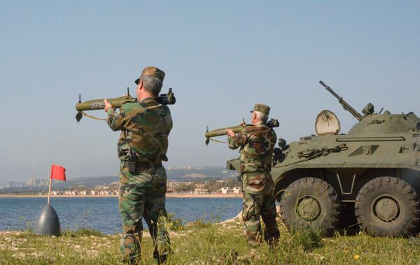 Les manœuvres russo-syriennes à Tartous - Sputnik France