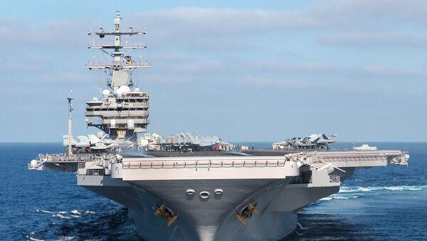 USS Ronald Reagan - Sputnik France
