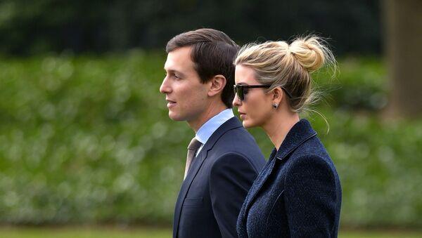 Jared Kushner et Ivanka Trump - Sputnik France