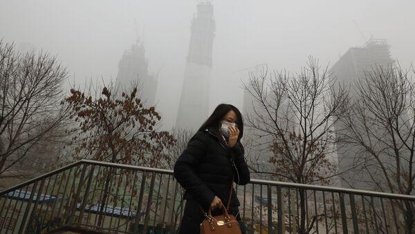 En Chine, on est en quête de dégustateurs... d'air - Sputnik France