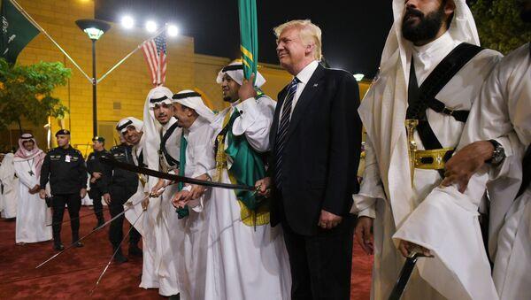 Donald Trump en Arabie saoudite - Sputnik France