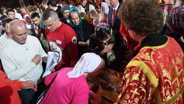 Arrivée des reliques de Saint Nicolas à Moscou - Sputnik France