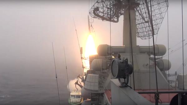 Exercices avec tirs réels de la flotte russe du Pacifique - Sputnik France
