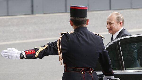 Vladimir Poutine à Paris (archives) - Sputnik France
