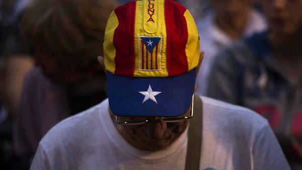 Partidario de la independencia de Cataluña - Sputnik France