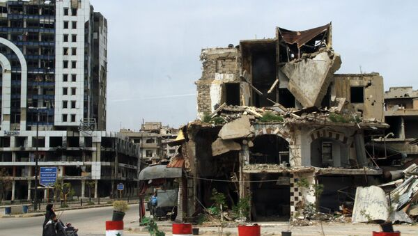 Ситуация в сирийском городе Хомс - Sputnik France