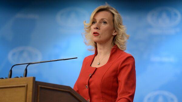 Брифинг официального представителя МИД России М.В.Захаровой - Sputnik France