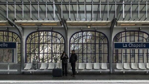 Station la Chapelle, Paris - Sputnik France
