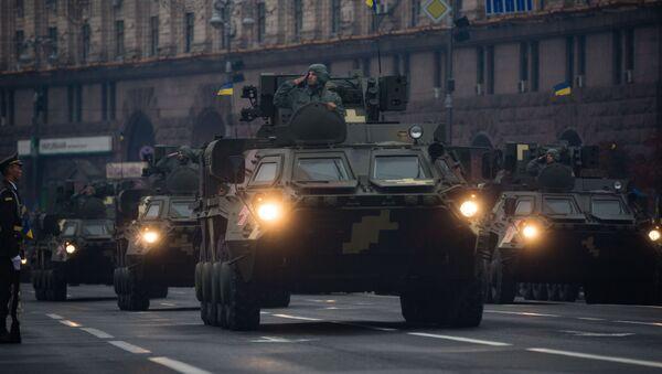 Военный парад по случаю 25-летней годовщины со Дня Независимости Украины - Sputnik France