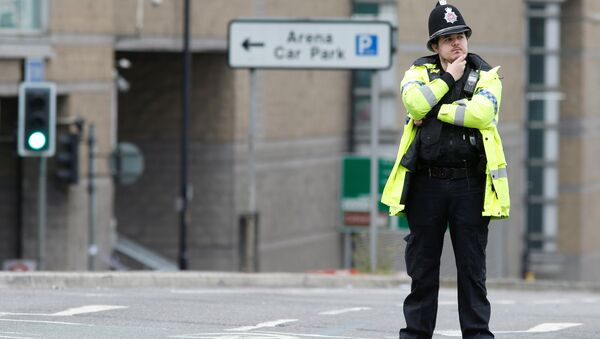 Un policier à Manchester - Sputnik France