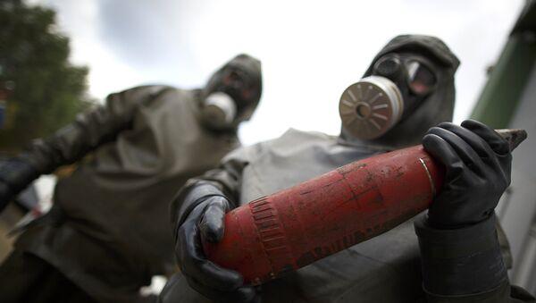 Destruction d'armes chimiques - Sputnik France