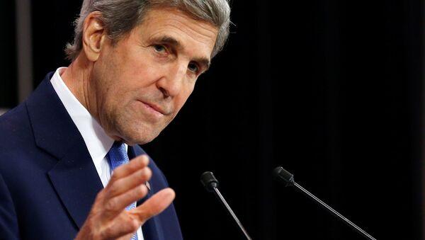 L'ancien secrétaire d'Etat américain John Kerry - Sputnik France